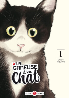La Gameuse et son chat - couverture