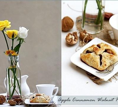 Baking| APPLE CINNAMON WALNUT PARCELS … where Ottolenghi met Greenspan!