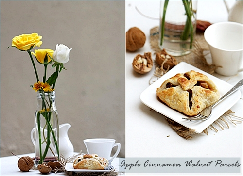 Baking| APPLE CINNAMON WALNUT PARCELS … where Ottolenghi met Greenspan!