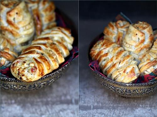 Chicken Quark Crossover Puff Pastry