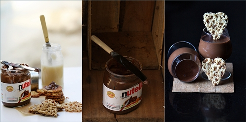 Dark chocolate espresso panna cotta