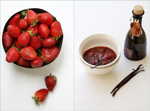 Baking | Gluten Free Strawberries & Quark Layered Cake … & thoughts for Japan!
