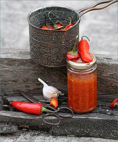 Sriracha style Sweet-Chili Dipping Sauce
