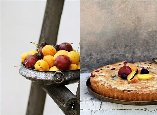 Baking| Stone Fruit Tea Cake … perfect inspiration for summer!