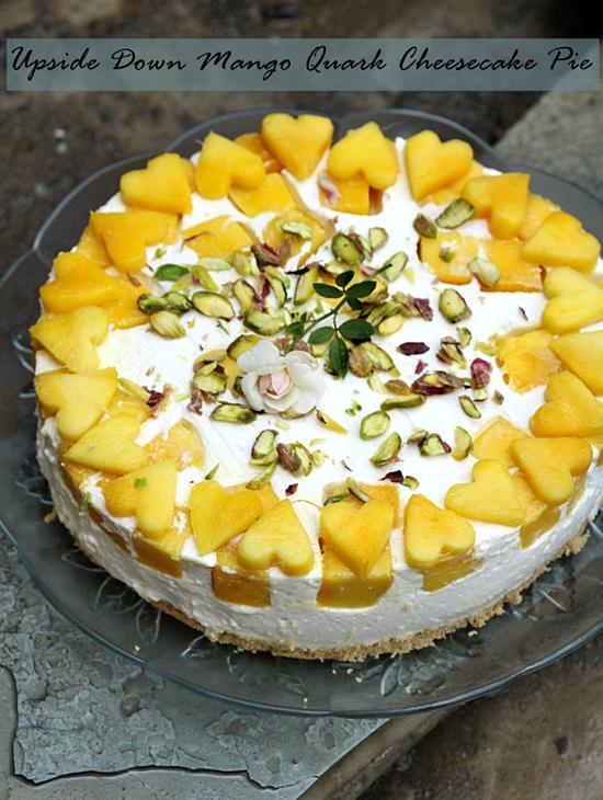 Mango Upside Down Cake Recipe Indian