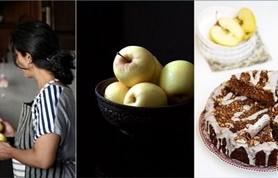 Baking| Classic Spiced Apple Walnut Buttermilk Coffee Cake – R'ock-tober #baketogether