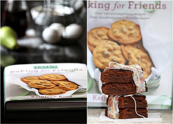 Milk Chocolate Brownies, Baking for Friends, Kathleen King