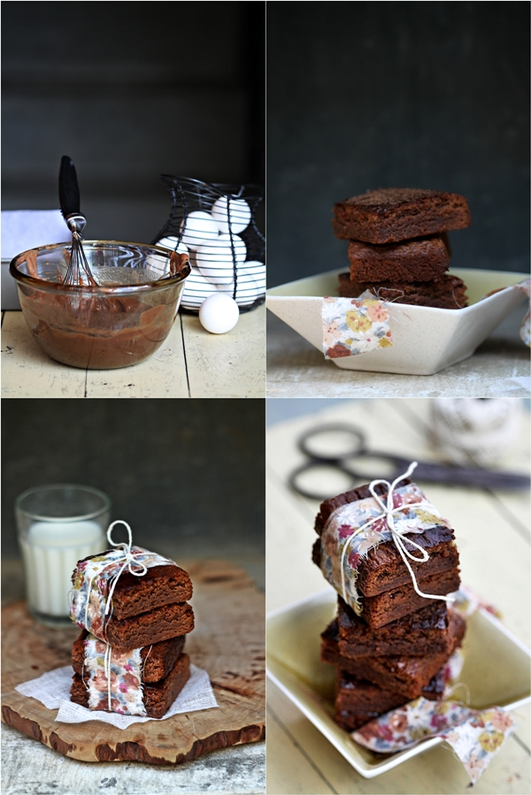 Baking   One-bowl Milk Chocolate Brownies ….. with a little food for thought!