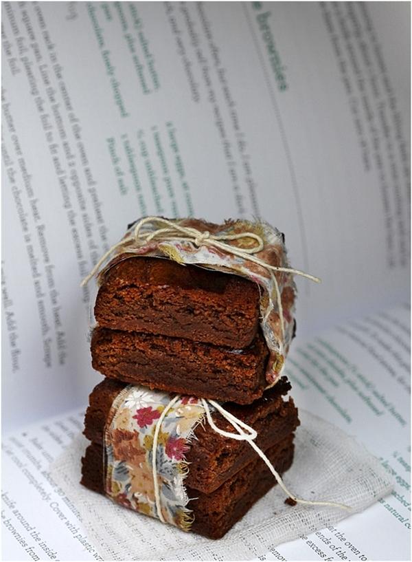Milk Chocolate Brownies Baking with Friends, Kathleen King