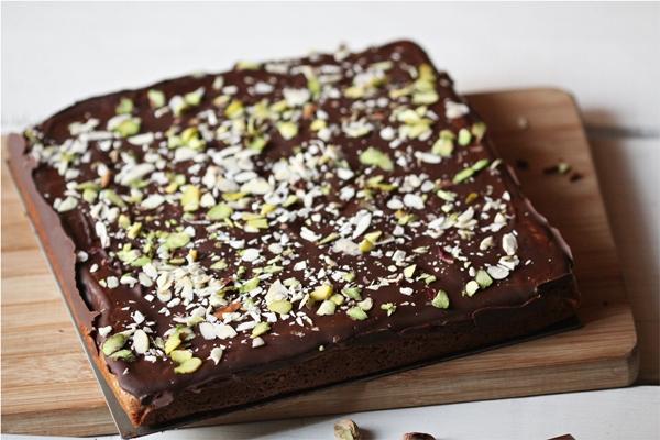 Almond Chocolate Squares