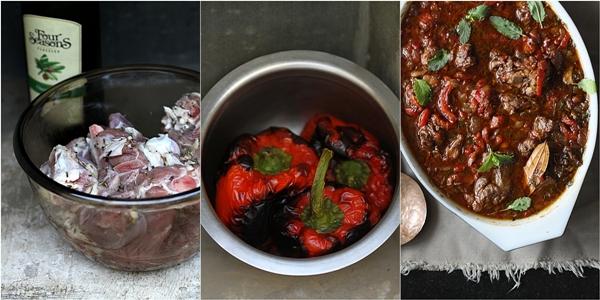 Baking | Basque Lamb Stew ... White Wine or Red? Surpisingly both ...