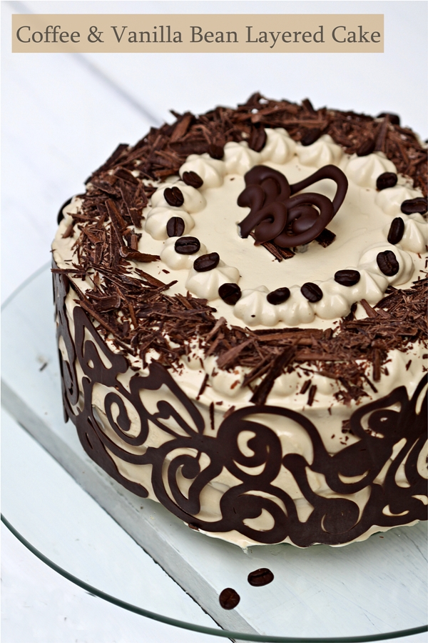 Images Of Birthday Cake With Name Raman : Baking Coffee & Vanilla Bean Layered Cake ...Happy ...