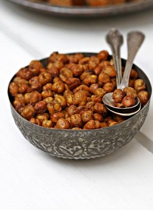 Roasted-Chickpeas-300 Baking | Almond Digestive Chocolate Squares & Roasted Garam Masala Chickpeas ... Diwali / Holiday Baking