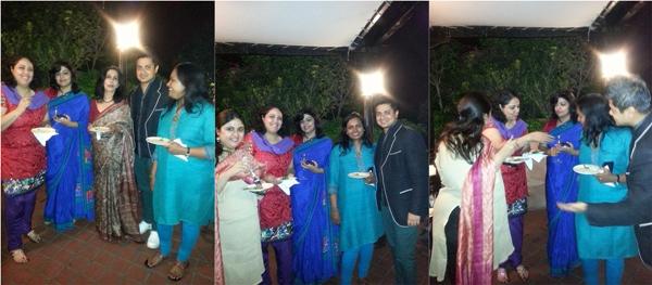 Delhi food bloggers With Chef Sabyasachi Gorai, Olive & GM Media Relations, ITC, Richa Sharma