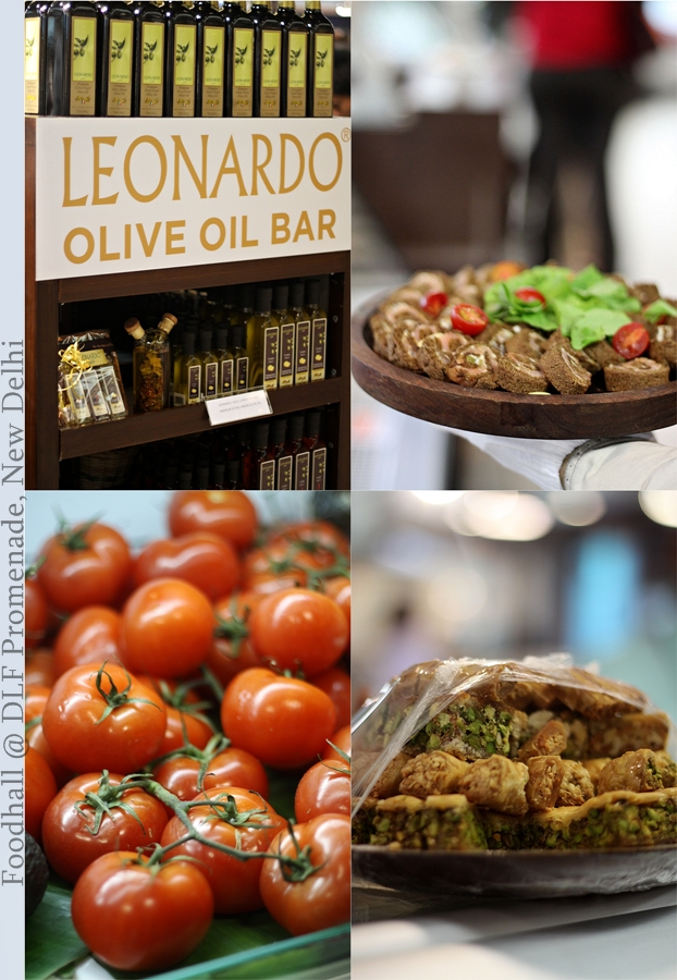 Food Event | Foodhall … an Olive Oil Bar, fresh brewed tea, spices … & more