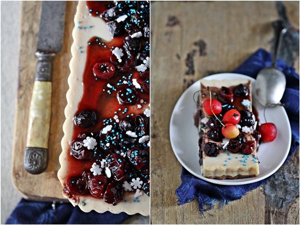 Cherry Yogurt Tart
