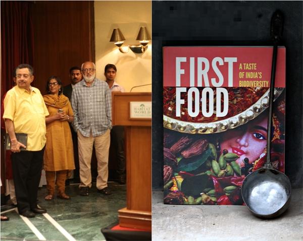 First Food , A Taste of India's Biodiversity with Pushpesh pant, Vinod Dua and Vibha Varshney