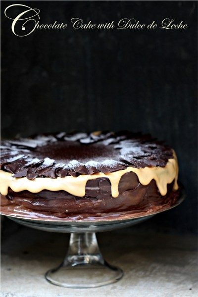 Baking | Sinful Chocolate Cake with Dulce de Leche … chocolate + toffee = heavenly!