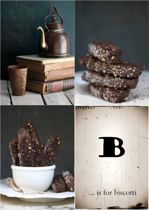 Wholegrain GF Amaranth Brownie Biscotti