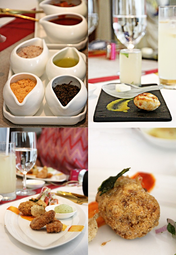 @ the Amaranta Oberoi for a special Parsi lunch