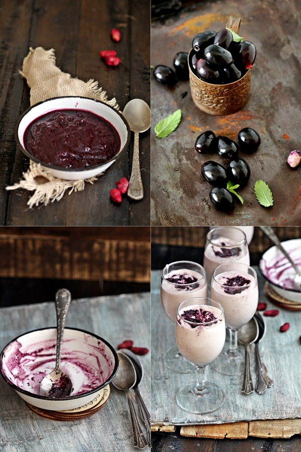 Jamun {Wild Indian Java Plum} Mousse