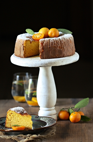 Gluten Free Orange And Almond Cake With Mascarpone