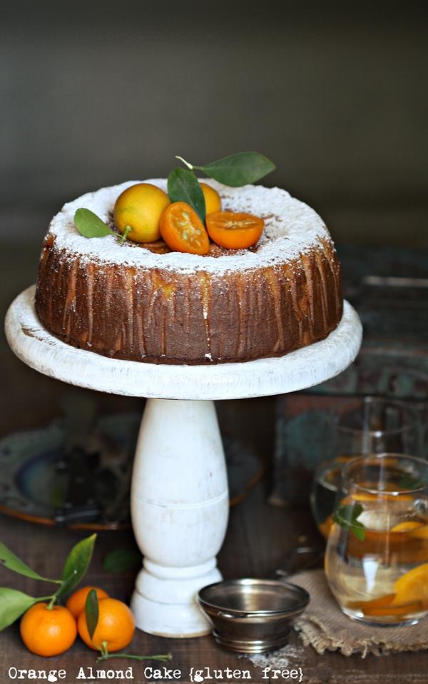 Orange Almond Healthy Cake
