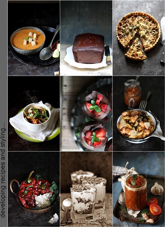 Recipe development & food styling