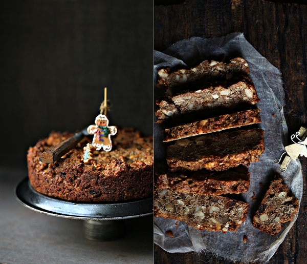 Wholegrain Bourbon Garam Masala Christmas Cake
