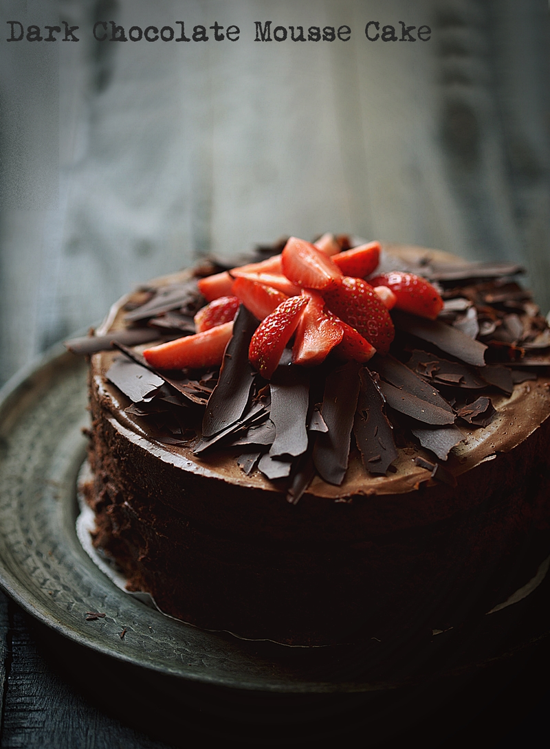 Healthy Chocolate Cake With Vegetables