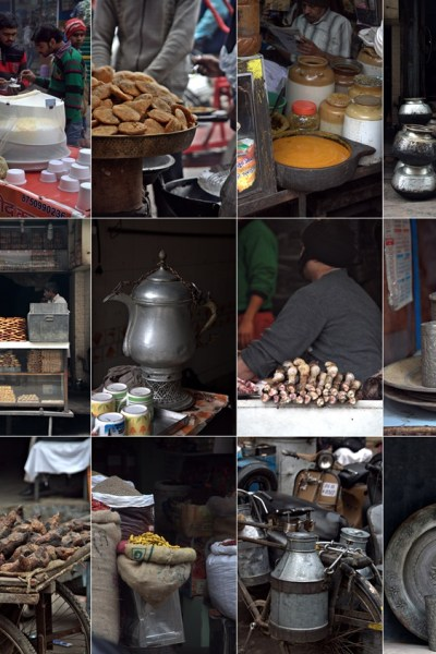 Feature | Walking through the streets of Old Delhi on a cold winter morning #winter #food #props #delhi
