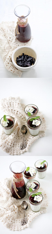Kokum Coconut Milk Panna Cotta