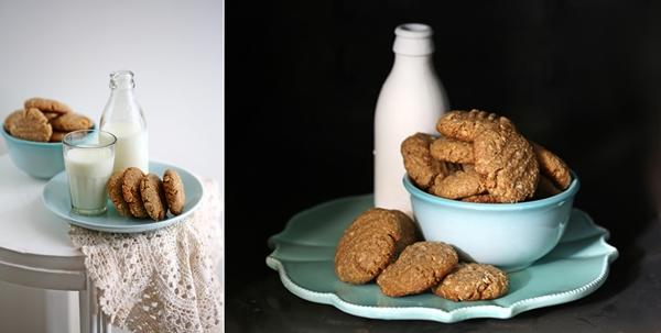 Wholegrain Anzac Cookies