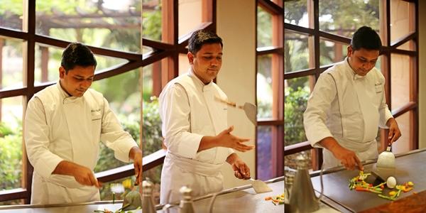 Chef Rohilla. TK'S Oriental, Hyatt Regency Delhi