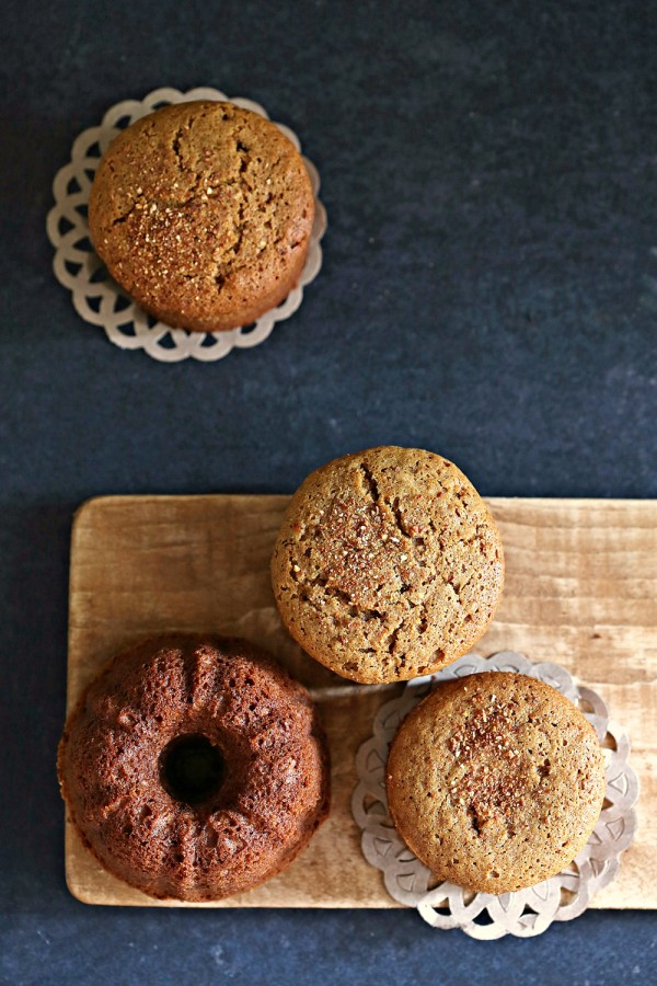 Ginger Jaggery Wholewheat Tea Cakes