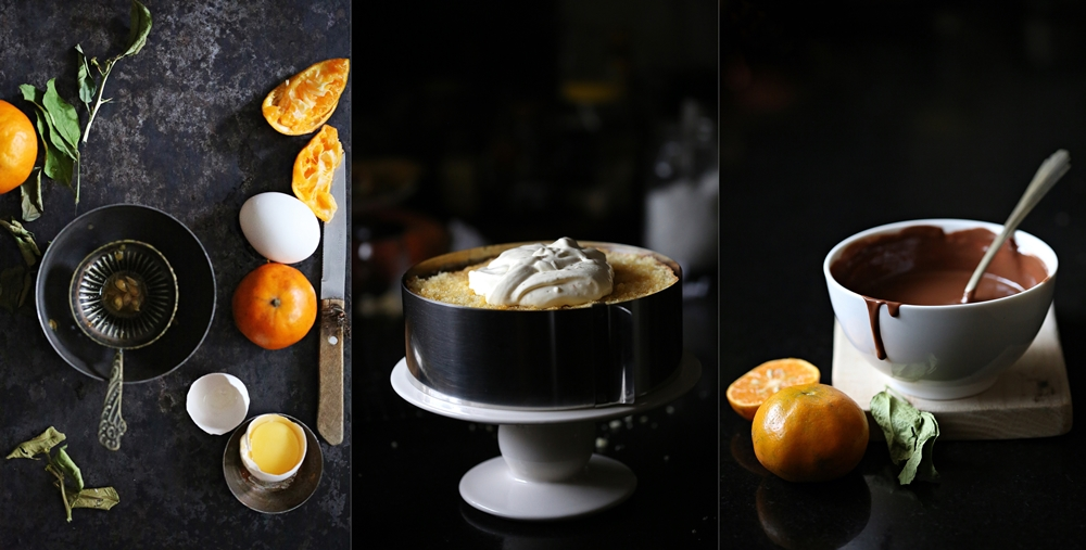 Orange Almond Chocolate Gateau