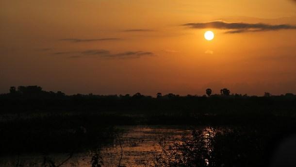 Sunrise, Karaikudi, Chettinad, South India