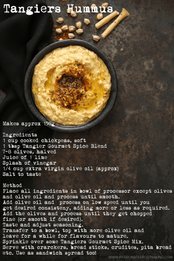 Tangier Hummus with Sprig