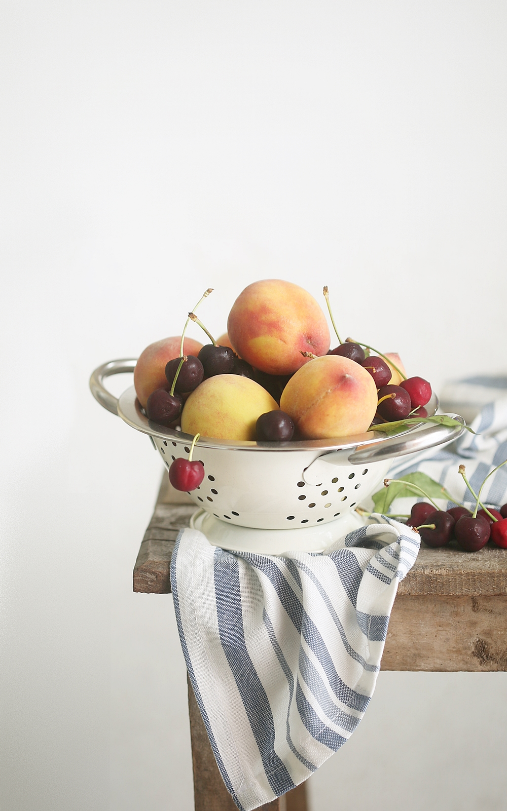 Peaches, cherries, stone fruit