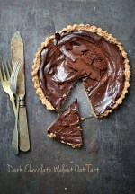 Dark-Chocolate-Walnut-Oat-Tart-4-1000 Baking | Dark Chocolate Walnut Oat Tart GF...everyone needs a chocolate hug!
