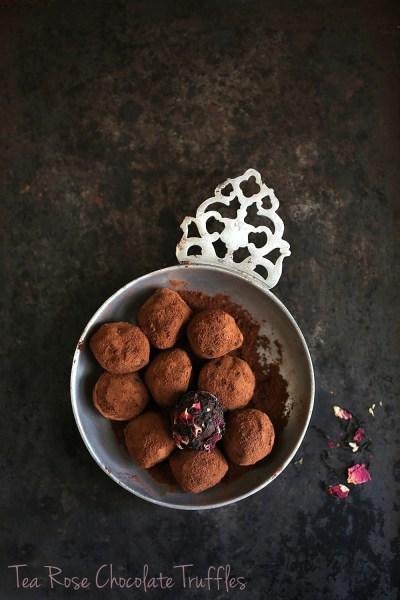 Tea Talk   Tea Rose Chocolate Truffles … a Teabox kind of Diwali #chocolate #tea # truffles