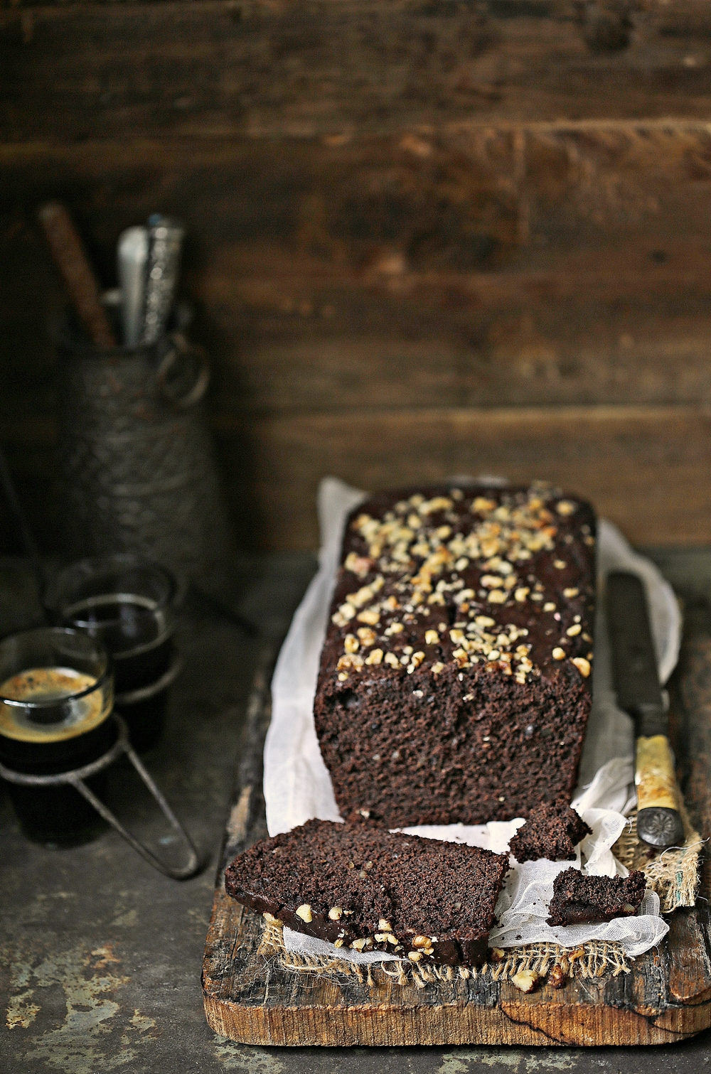 Dark Chocolate & Walnut Wholewheat Cake, Malai Cake