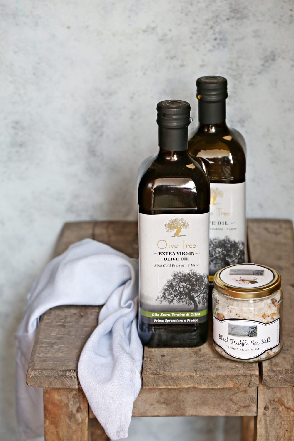Olive Oil & Black Truffle Sea Salt
