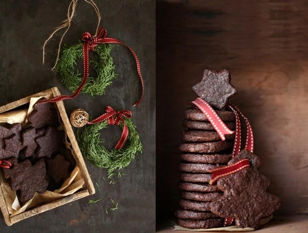 Wholegrain-Chocolate-Sables-9-1000 Baking | Wholegrain Chocolate Buckwheat Sablés . . . crisp indulgent eggless Christmas cookies