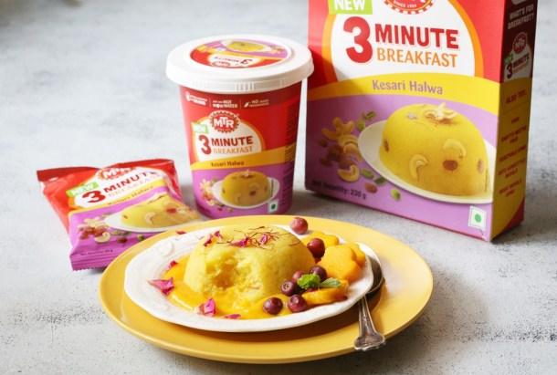 MTR-Kesari-Halwa-7-1000 Kesari Halwa - Breakfast in 3 minutes with MTR.  Healthy. Quick. Delicious.