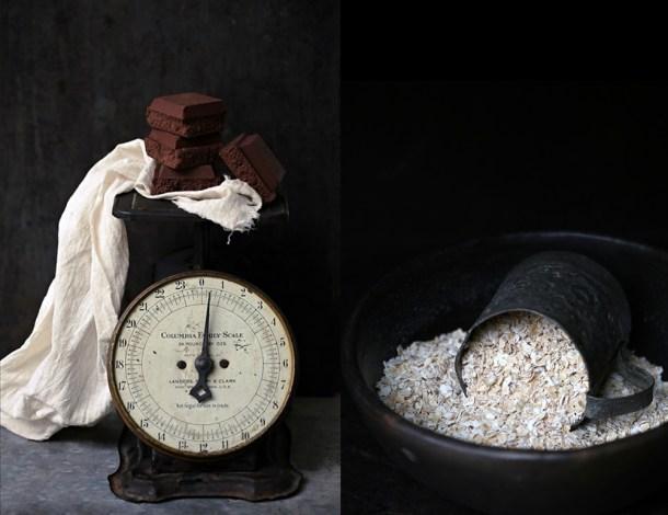 Dark-Chocolate-Oat-Pudding-1 Dark Chocolate Oat Walnut Pudding {eggless}