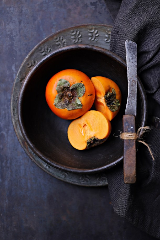persimmons-1 Dark Chocolate Walnut Gateau {GF} ... and exploring the Canon 6D Mark II #photography #canon