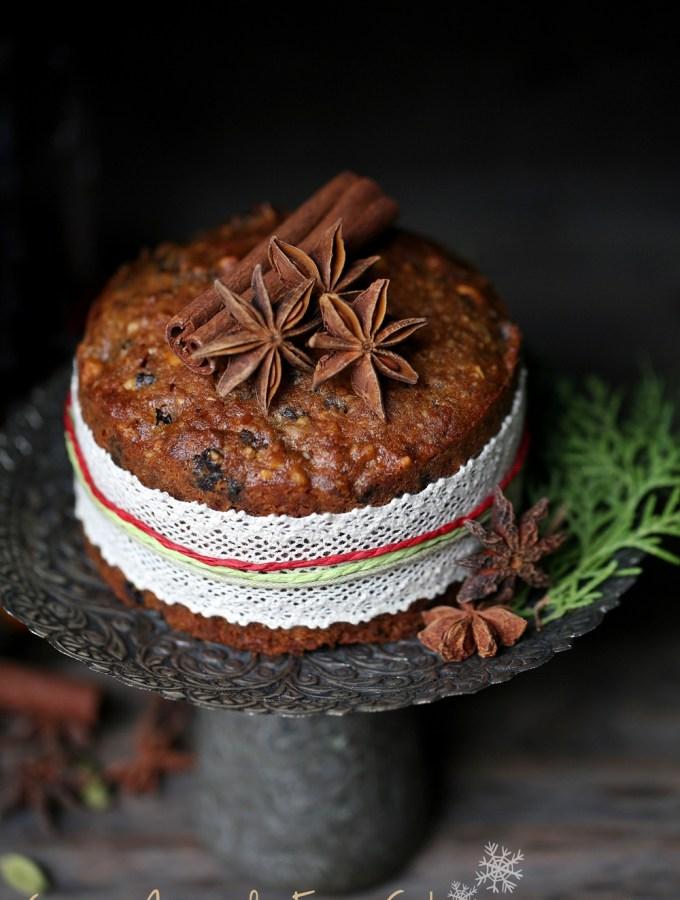 Garam Masala Christmas Fruit Cake … warm, spicy, festive!