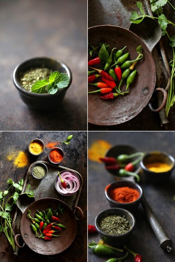 Curry-ingredients Lamb Mince Capsicum / Keema Capsicum ... winter favourite comfort food