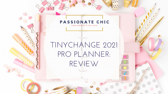 TinyChange Pro Planner Review